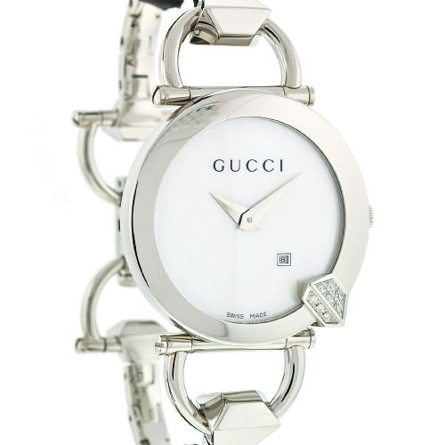 GUCCI Chiodo 16 Diamond Ladies Watch YA122505
